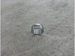 Prsten zaoblený šířka. 10 mm s gravírováním