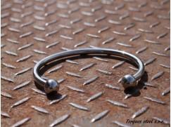 Torques náhrdelník z nerezové chirurgiceké oceli, vnitřní průměr (110-135) 8mm