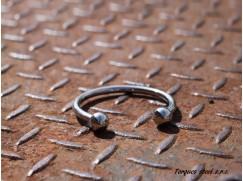 Torques náramek nerezový z chirurgické oceli (55 - 65 mm) ∅ 6 mm
