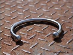 Torques náhrdelník z nerezové chirurgické oceli, vnitřní průměr (110 - 140mm)10mm